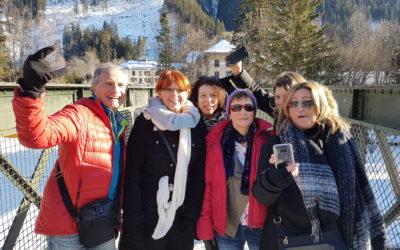 La Poste anime son workshop commercial à Chamonix le 22 janvier 2019 à l'aide de l'expérience Rallye SmartFun de Happy Biz Dev !