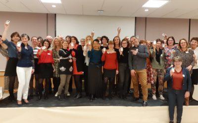 HappyBizDev/Brochet-Teambuilding anime avec succès partagé la soirée festive des Vœux du club lyonnais des Assistantes de Direction CLASS le 10 janvier 2020 !